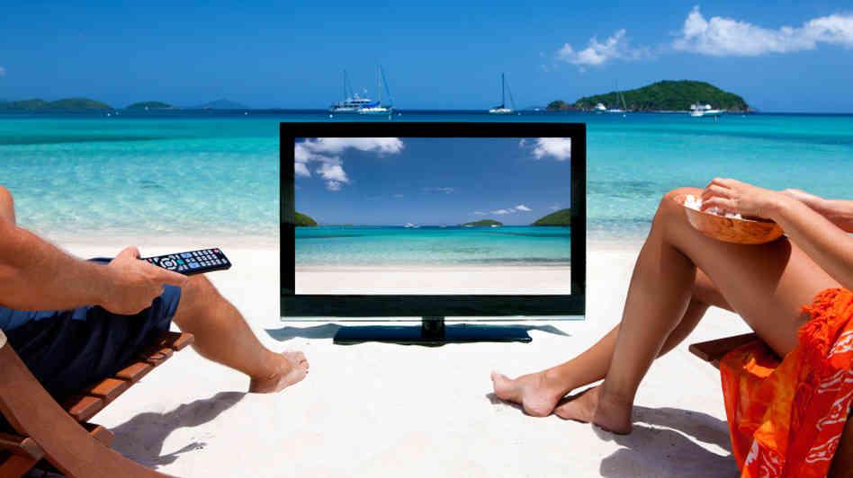 summer tv graphic