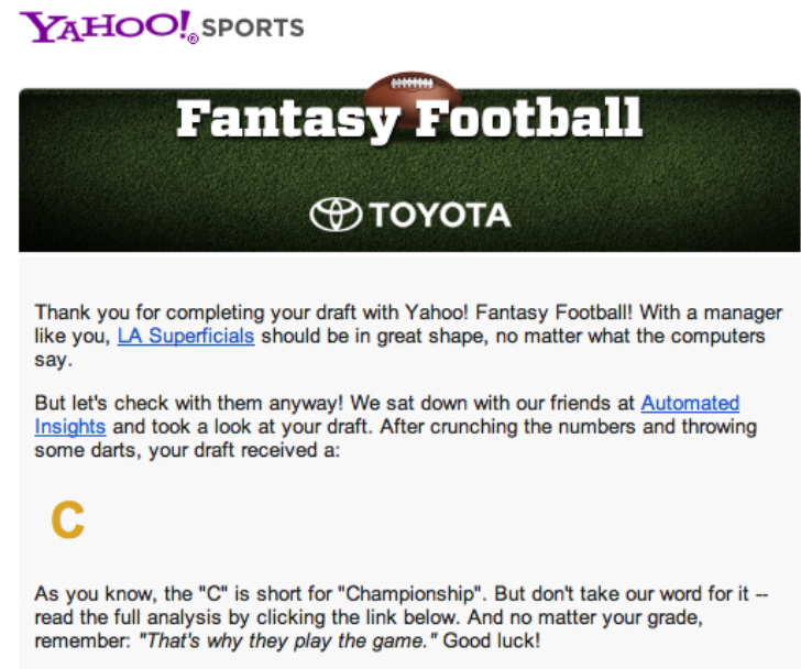 fantasy football – willblogforfooddotcom